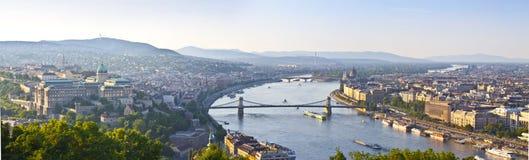 πανόραμα της Βουδαπέστης Στοκ φωτογραφίες με δικαίωμα ελεύθερης χρήσης