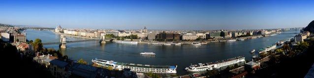 πανόραμα της Βουδαπέστης &D Στοκ Εικόνες