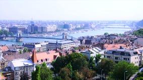 Πανόραμα της Βουδαπέστης με Δούναβη φιλμ μικρού μήκους