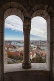 Πανόραμα της Βουδαπέστης Στοκ εικόνα με δικαίωμα ελεύθερης χρήσης