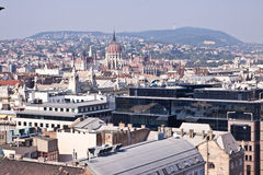 πανόραμα της Βουδαπέστης &O Στοκ Εικόνα