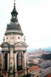 πανόραμα της Βουδαπέστης &O Στοκ Εικόνες