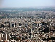 πανόραμα της Δαμασκού πόλ&epsilo Στοκ Εικόνες
