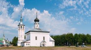 Πανόραμα της εκκλησίας της αναζοωγόνησης Στοκ Φωτογραφία