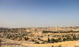πανόραμα της Ιερουσαλήμ Στοκ εικόνες με δικαίωμα ελεύθερης χρήσης