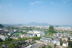 Πανόραμα της Κίνας Guilin στοκ φωτογραφία