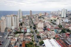 πανόραμα της Κούβας Αβάνα Στοκ Εικόνες