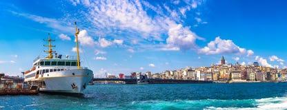 πανόραμα της Κωνσταντινούπ& στοκ εικόνες