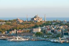 πανόραμα της Κωνσταντινούπ& στοκ εικόνα με δικαίωμα ελεύθερης χρήσης