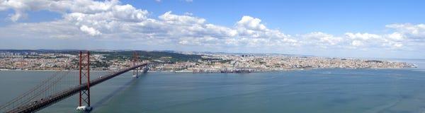 Πανόραμα της Λισσαβώνας στοκ εικόνες