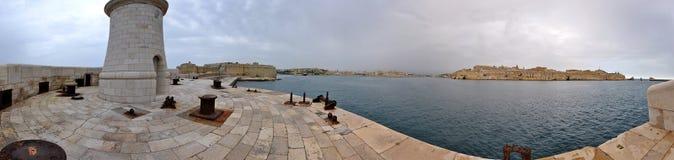 Πανόραμα της Μάλτας Στοκ φωτογραφία με δικαίωμα ελεύθερης χρήσης