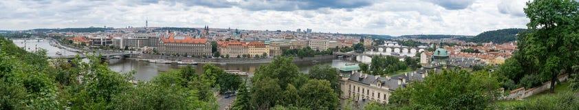 Πανόραμα της Πράγας στοκ εικόνες με δικαίωμα ελεύθερης χρήσης