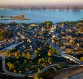 Πανόραμα της πόλης DA Mei στοκ εικόνες με δικαίωμα ελεύθερης χρήσης