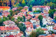 Πανόραμα της πόλης Plovdiv, Βουλγαρία Στοκ εικόνα με δικαίωμα ελεύθερης χρήσης