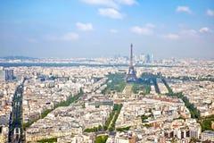 Πανόραμα της πόλης Παρίσι Στοκ Εικόνες