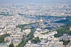 Πανόραμα της πόλης Παρίσι Στοκ Φωτογραφίες
