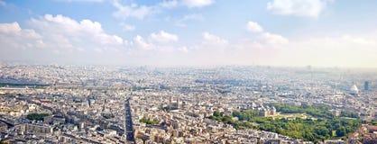 Πανόραμα της πόλης Παρίσι Στοκ εικόνες με δικαίωμα ελεύθερης χρήσης