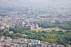 Πανόραμα της πόλης Παρίσι Στοκ εικόνα με δικαίωμα ελεύθερης χρήσης