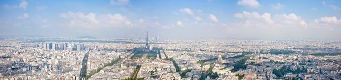 Πανόραμα της πόλης Παρίσι Στοκ φωτογραφία με δικαίωμα ελεύθερης χρήσης