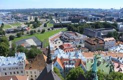 Πανόραμα της πόλης Ταλίν Στοκ εικόνες με δικαίωμα ελεύθερης χρήσης