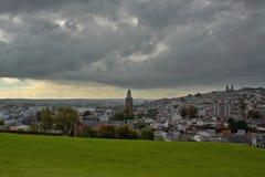 Πανόραμα της πόλης του Κορκ Ιρλανδία Στοκ Εικόνα