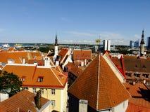 Πανόραμα της πόλης του Ταλίν, Εσθονία Στοκ εικόνα με δικαίωμα ελεύθερης χρήσης