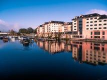 Πανόραμα της πόλης Athlone και του ποταμού του Shannon Στοκ Εικόνες
