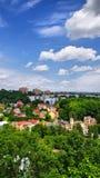 Πανόραμα της πόλης Cieszyn Στοκ φωτογραφία με δικαίωμα ελεύθερης χρήσης