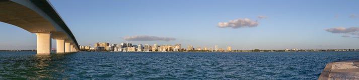 Πανόραμα της Φλώριδας Sarasota στοκ εικόνες