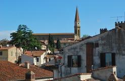 Πανόραμα της όμορφης πόλης του Αρέζο στην Τοσκάνη - την Ιταλία Στοκ φωτογραφία με δικαίωμα ελεύθερης χρήσης