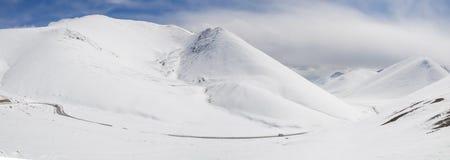 Πανόραμα τοπίων του Θιβέτ Στοκ εικόνες με δικαίωμα ελεύθερης χρήσης