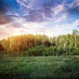 Πανόραμα τοπίων Στοκ εικόνες με δικαίωμα ελεύθερης χρήσης