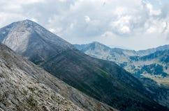 Πανόραμα του βουνού Pirin Στοκ Φωτογραφίες