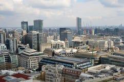 Πανόραμα του Λονδίνου Στοκ φωτογραφία με δικαίωμα ελεύθερης χρήσης