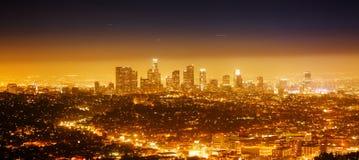 Πανόραμα του Λος Άντζελες Στοκ Φωτογραφία