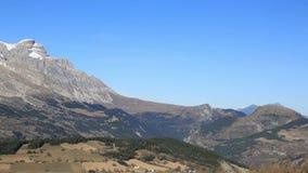 Πανόραμα του ορεινού όγκου Devoluy απόθεμα βίντεο