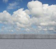 Πανόραμα του ουρανού Στοκ φωτογραφία με δικαίωμα ελεύθερης χρήσης