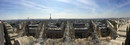Πανόραμα του Παρισιού, Γαλλία Στοκ φωτογραφίες με δικαίωμα ελεύθερης χρήσης