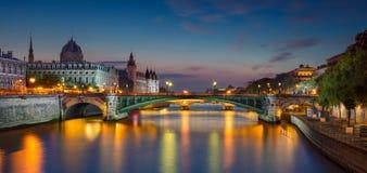 Πανόραμα του Παρισιού Στοκ Φωτογραφίες