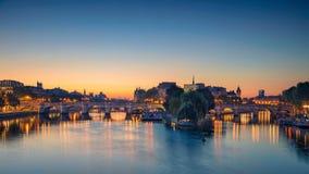 Πανόραμα του Παρισιού Στοκ φωτογραφία με δικαίωμα ελεύθερης χρήσης