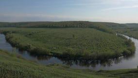 Πανόραμα του ποταμού απόθεμα βίντεο