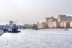 Πανόραμα του ποταμού Moskva Στοκ Εικόνα