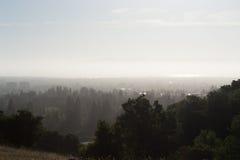 Πανόραμα του Σαν Φρανσίσκο στοκ εικόνα