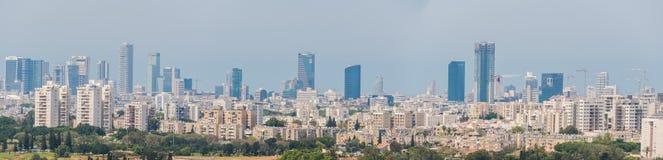 Πανόραμα του Τελ Αβίβ Στοκ εικόνες με δικαίωμα ελεύθερης χρήσης