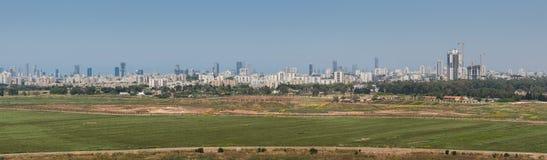 Πανόραμα του Τελ Αβίβ Στοκ εικόνα με δικαίωμα ελεύθερης χρήσης
