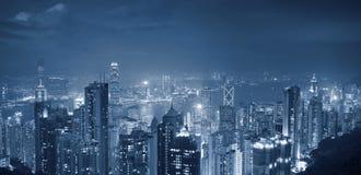 πανόραμα του Χογκ Κογκ Στοκ Φωτογραφίες