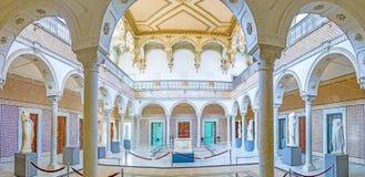 Πανόραμα του δωματίου Καρθαγένη στο μουσείο Bardo Στοκ Φωτογραφίες