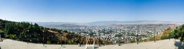 Πανόραμα του Tbilisi, Γεωργία Στοκ φωτογραφία με δικαίωμα ελεύθερης χρήσης