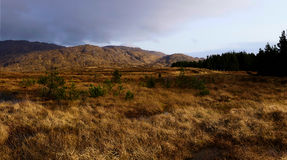 Πανόραμα των βουνών Bluestack Στοκ εικόνα με δικαίωμα ελεύθερης χρήσης
