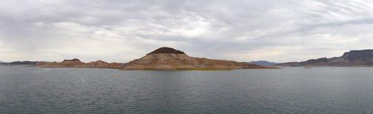 Πανόραμα υδρομελιών λιμνών Στοκ Φωτογραφία